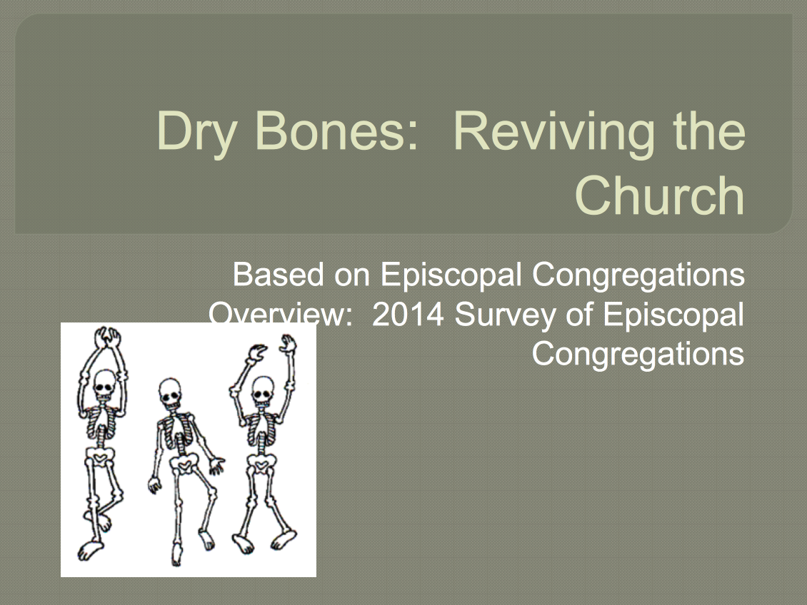 Can These Bones Live? Resurrecting The Church