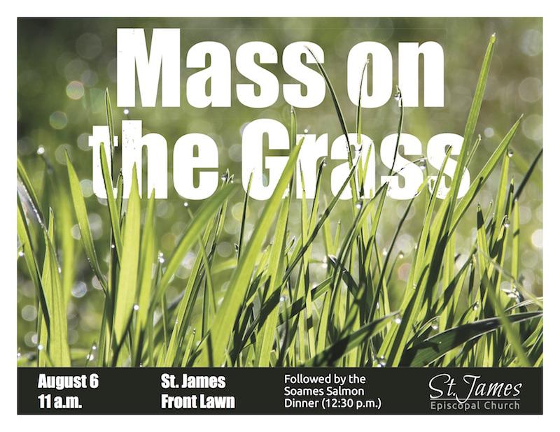Mass On The Grass & Salmon Bake