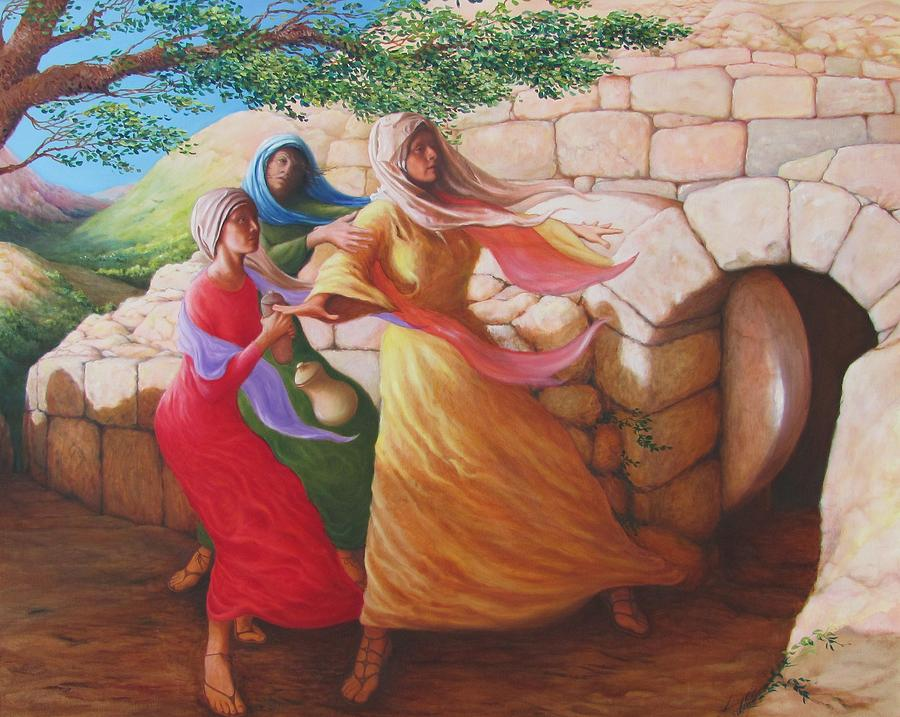 Mary Magdalene Discovering The Empty Tomb Herschel Pollard