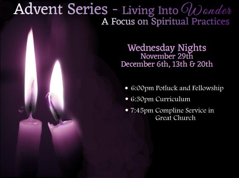 Advent Series – Living Into Wonder