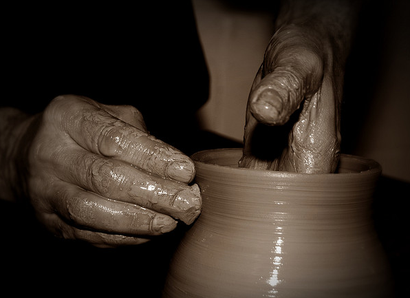 The Potter's Hands: God's Creative Process Of Transformation