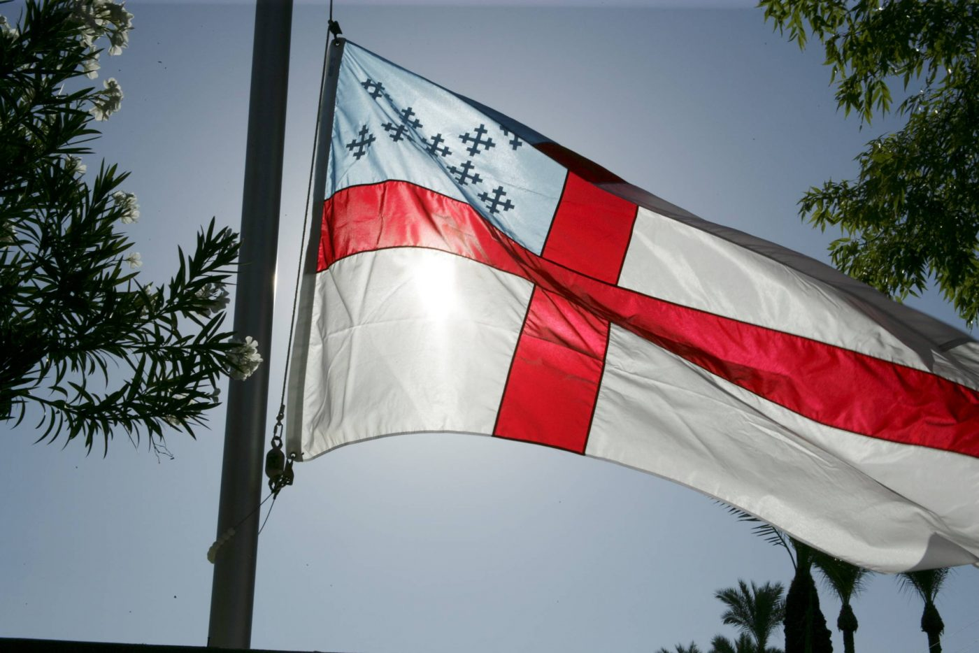 episcopal church flag symbols youth fitsnews anglican rules breakaway sc flags james st court episcopalian hyc conference september icons religion